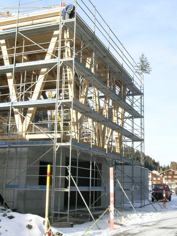 Neubau Werkhof, Safien │ Statik