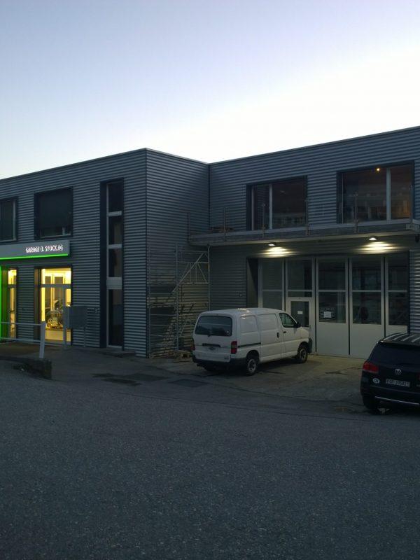 Sanierung/Neubau Garage Stock, Zizers │ Gesamte Planung / Statik