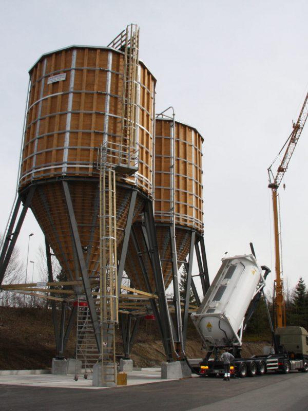 Neubau Siloanlage, Hinwil │ Statik
