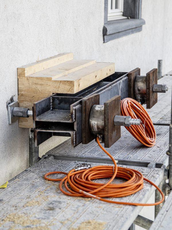 Instandsetzung Regierungsgebäude, Chur │ Gesamte Planung / Statik / Bauleitung (Foto A.Badrutt)