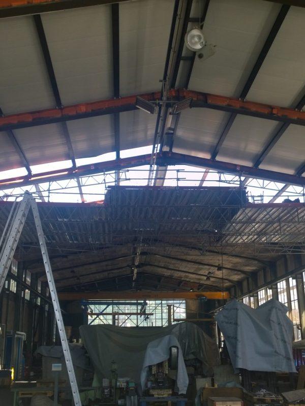 Sanierung Stahlhalle, Landquart │ Gesamte Planung / Statik